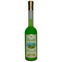 "Pistachio Liquor ""Rosolio"" of Sicily bottle of 50cl"