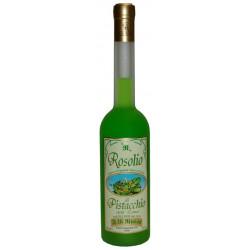 Rosolio Siciliano al Pistacchio liquore in elegante bottiglia da 50cl