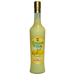 Lemon cream liqueur - Lemon Cremoncello in 50cl bottle 16,9 OZ)