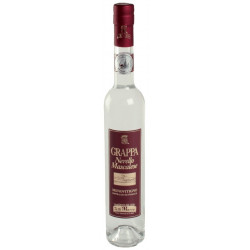 Grappa of Nerello mascalese grapes in bottle of 50cl (33,8 OZ)