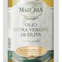 vendita online Estratto a Freddo Olio Extra Vergine di Oliva Siciliano Fratelli Madonia miglior prezzo etichetta