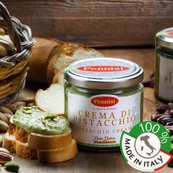 Vendita on line crema di pistacchio siciliana per preparare dolci della tradizione siciliana
