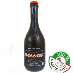 Pils Blonde Beer, unfiltered, unpasteurized Ballarò Bottle...