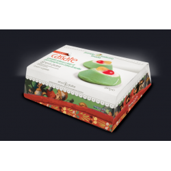Sicilian Small Cassata gluten free frozen package of 2 pieces...