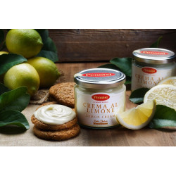 Sicilian Lemon Spread Sweet Cream 90g jar