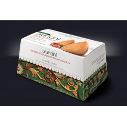 Confezione da 12 Arancini prosciutto e mozzarella senza glutine,...
