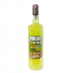 Vendita online Limoncello di Sicilia 100cl Liquore al limone di Sicilia on line Fratelli Russo
