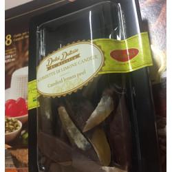 """Canditi di Limone Siciliano ricoperti di cioccolata, """"Scorzette..."""