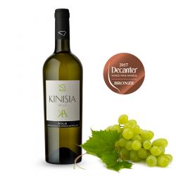 Vino Bianco Grillo DOC 100% Bottiglia da 75 cl linea Kinisia Cantine Birgi