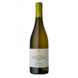 White Wine Grillo100% Bottle of 75 cl Trisole Line Sicilian...