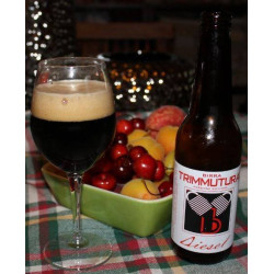 Bottle of 75cl Sicilian England Stout Fruit Beer