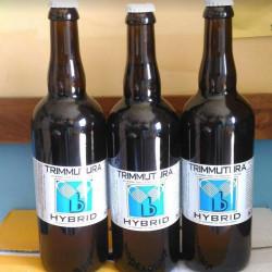 75cl Bianca Birra Artiginale BottigliaHybrid di Trimmutura ai...