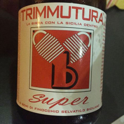 75cl Strong Ale with Red Flavored Beer Bottle Trimmutura Super