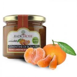 Confettura di Clementina Siciliana biologica in vasetto da 240g
