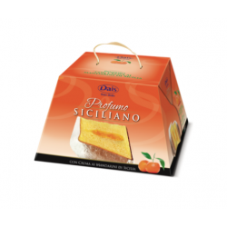 Pandoro with Sicilian Mandarin Dais Sweet Sicily