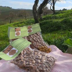 Vendita online Mandorle Siciliane sgusciate in confezione da 500gr