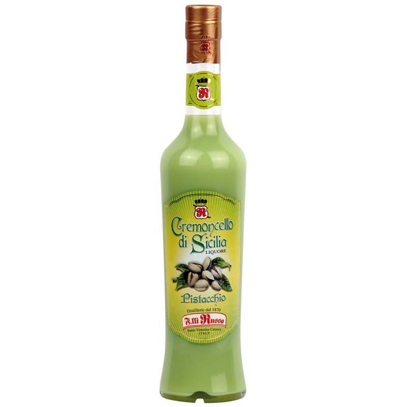 Crema Di Liquore Al Pistacchio Cremoncello Siciliano Al