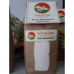 1kg di Farina di Farro Siciliano Tipo Monococco