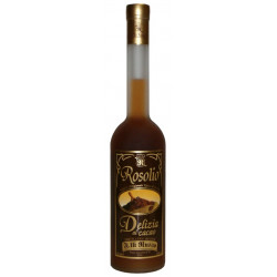 10 cl di Rosolio Siciliano al Cacao liquore in elegante bottiglie