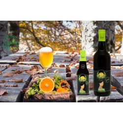 Craft Beer Ambra gluten free Bottle of 75