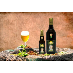 Vendita online Bottiglia 75cl Birra Artigianale Cruda al succo di Uva Irias Aura