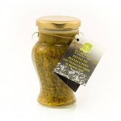 Pesto al Pistacchio di Bronte D.O.P barattolo da 190g