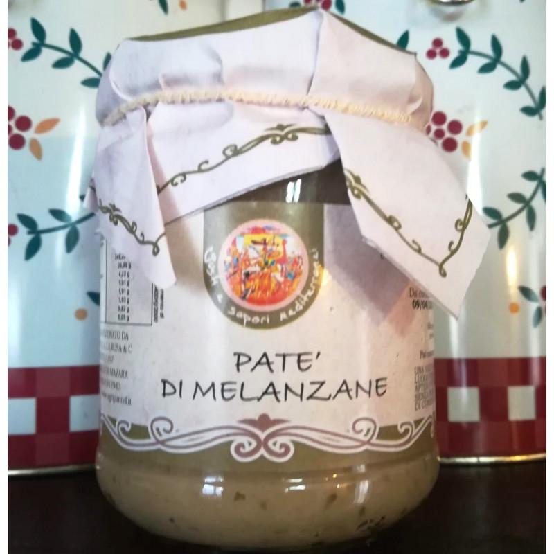 Vendita online Patè Siciliano di Melanzane in vasetto da 180 g