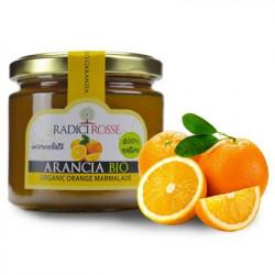 Confettura di Arancia Siciliana biologica in vasetto da 240g