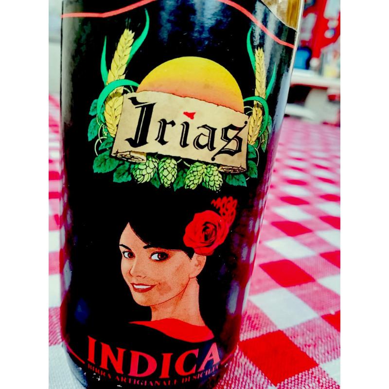 vendita online Bottiglia 75cl Rossa Birra Irias Artigianale al Ficodindia di Sicilia Indica