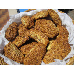 Sicilian Biscuits Queen with sesame pack of 1kg (35,27 OZ)