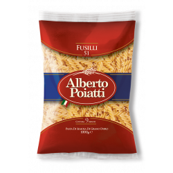 "Italian Pasta ""Fusilli"" package of 1kg"