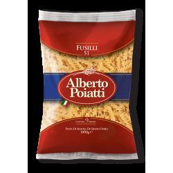 """1kg (35,27oz) Italian Pasta """"Fusilli"""" Alberto Poiatti"""