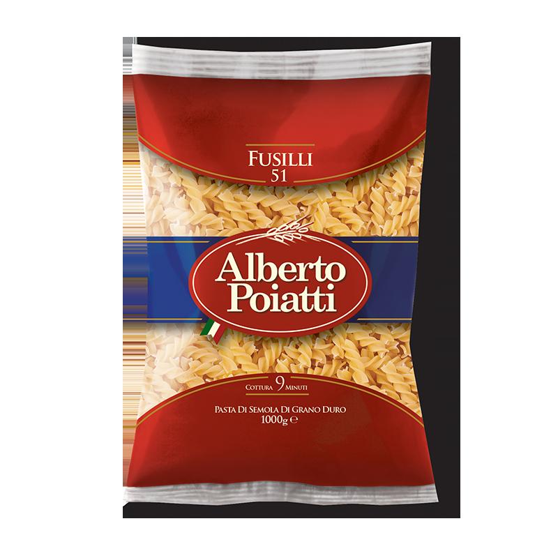 Vendita on line pasta poiatti fusilli al miglior prezzo for Cucinare 1 kg di pasta