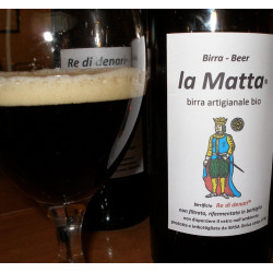 Bottle of 50cl Sicilian Irish Stout Beer