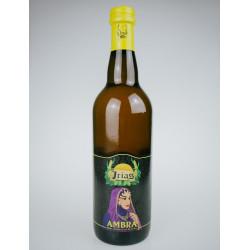 Bottiglia 75cl Ambra Birra Irias Artigianale agli agrumi di Sicilia