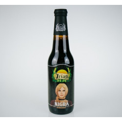 "Craft Sicilian Dark Beer ""Nigra"" bottle of 33 cl"