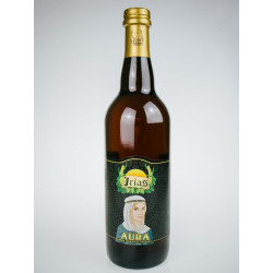 Bottiglia 75cl Birra Artigianale Cruda al succo di Uva Irias Aura