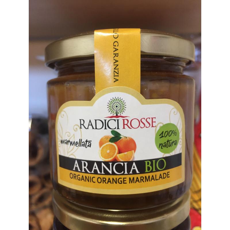 Vendita online Confettura di Arancia Siciliana biologica in vasetto da 240g