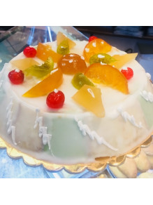 online sale Traditional Sicilian Cassata from 1.5 kg Sweet Typical Sicilian with sheep ricotta and chocolate drops
