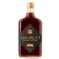 """Liquore Amaro Siciliano """"Amaretto"""" dell' Etna 70cl Amaruci..."""