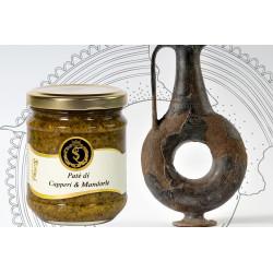 Pesto di Capperi Siciliani e Mandorle vasetto da140gr