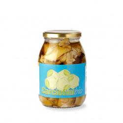 Carciofi siciliani sott'olio biologici in vaso da 1kg