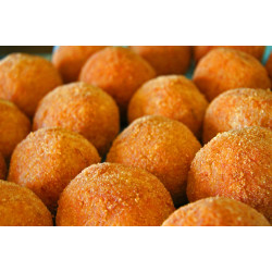 "sale online 8 Packs of 24 pieces of Arancino Siciliano with Ragù ""Arancina alla Carne"""
