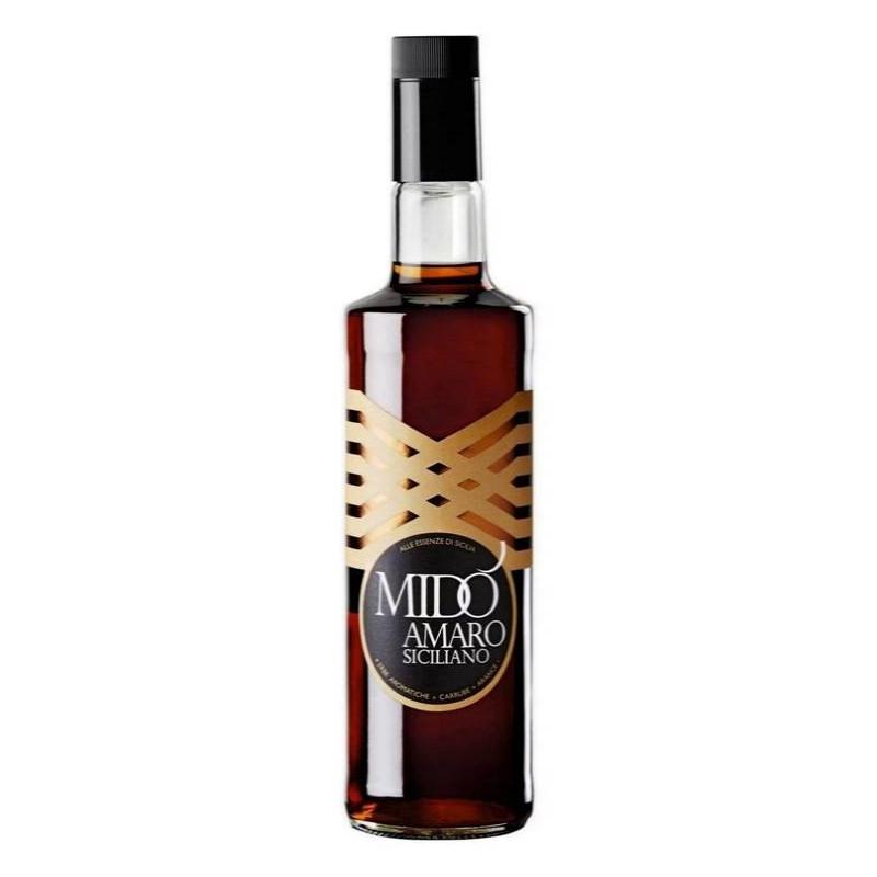 Vendita online Amaro Siciliano Mido alle Arance e Carrube Bottiglia da 70cl