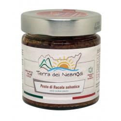 Pesto di Rucola, pomodori secchi e mandorle vasetto da 190 g