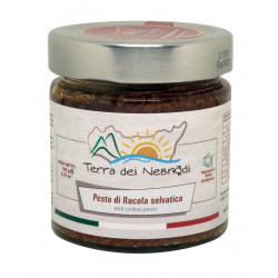 Sicilian Rucola dried tomatoes and almonds Pesto jar of 190 g