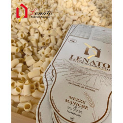 "Semolina Pasta ""Mezze Maniche"" package of 500gr"