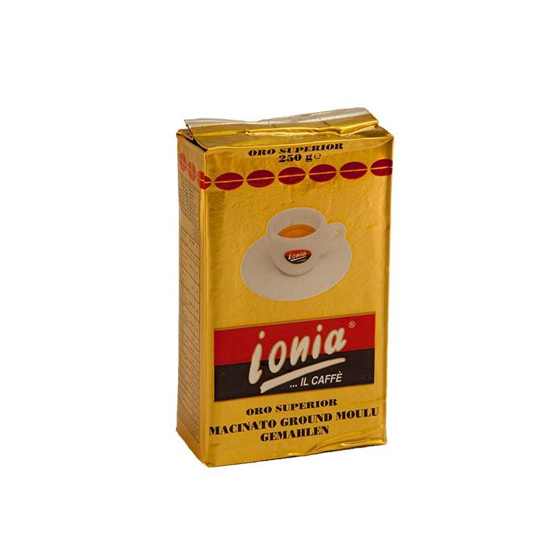Vendita online Caffè Ionia 250gr macinato ORO SUPERIOR MACINATO