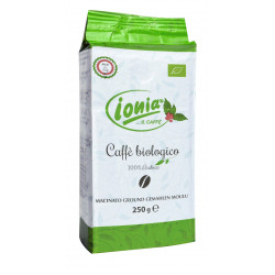 Vendita online Caffè Ionia 100% ARABICA Biologico Macinato confezione da  250gr