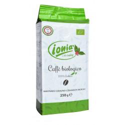 Ionia Coffee 100% ARABICA Organic Ground 250g pack